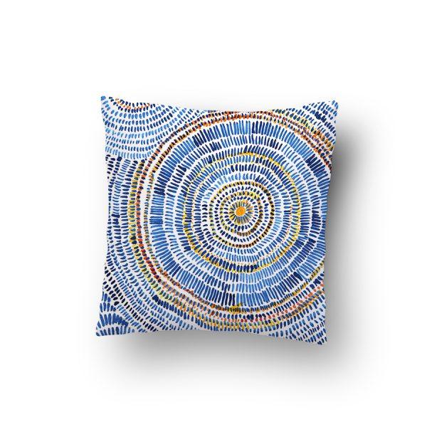 Abstract circles cushions