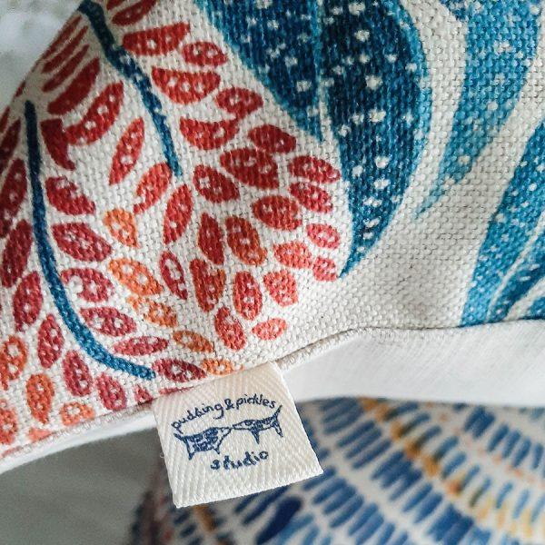 Aloe java print cushion