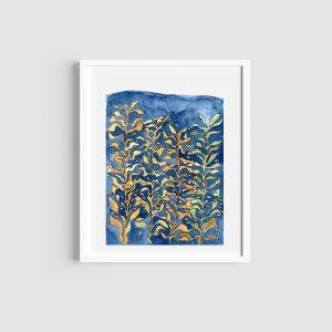 Cape Town kelp forest art print