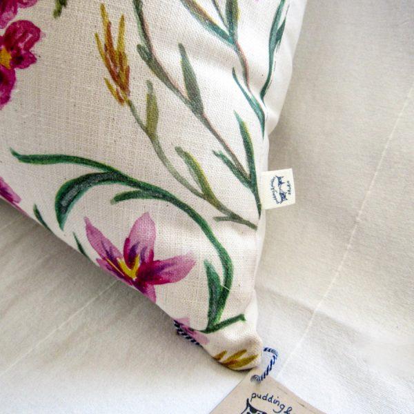 Fynbos cushion detail