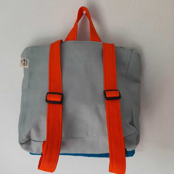 back view kids backpack